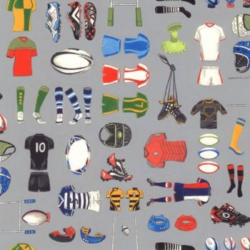 Nutex Fabric - Matchday - Rugby Equipment - 100% Cotton - 1/4m+