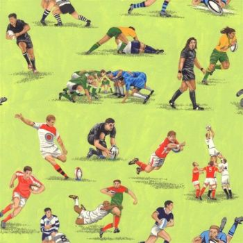Nutex Fabric - Matchday - Rugby Players - 100% Cotton - 1/4m+