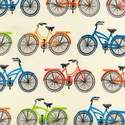Robert Kaufman Fabric - Bikes - Everyday Favorites - Vintage - Cotton