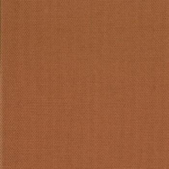 Moda Fabric - Bella Solids - Rust - 100% Cotton