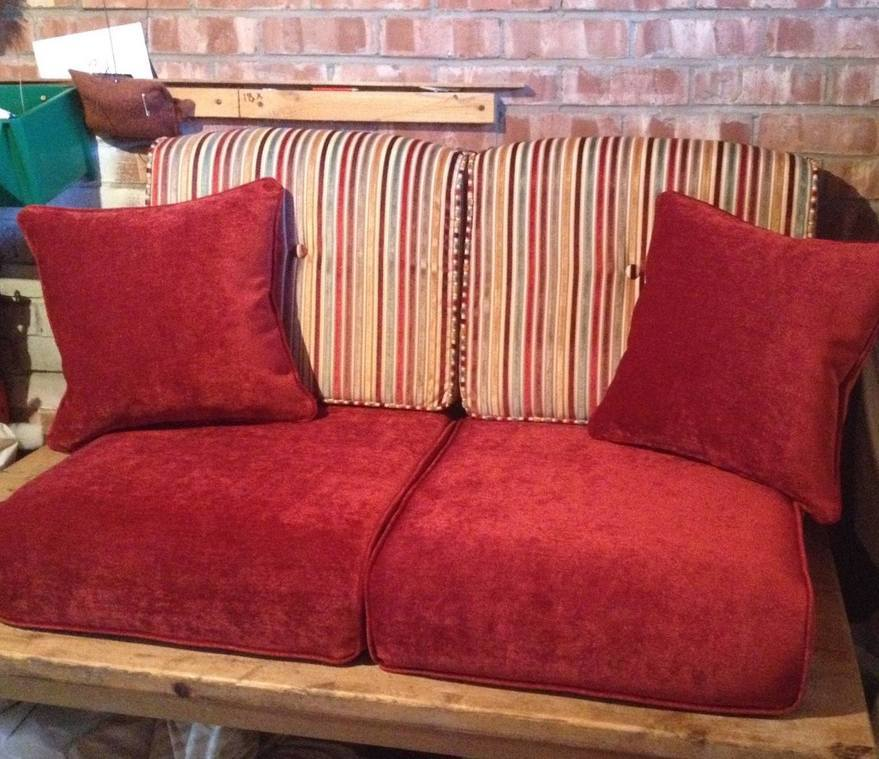 conservatory cushions 2seater