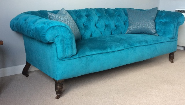 Victorian chesterfield sofa