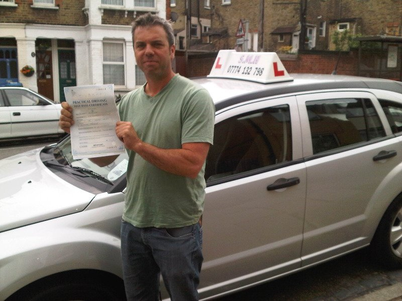Rob Driving Test Pass Sidcup Test Centre