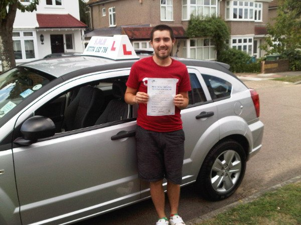 Reece Driving Test Pass with ZERO Faults
