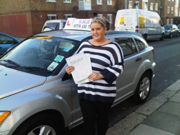 Beverly Driving Test Pass - Belvedere Test Centre