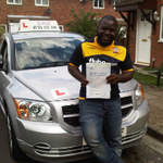 Toby Driving Test Pass Belvedere Test Centre