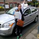Sophia Driving Test Pass Hither Green