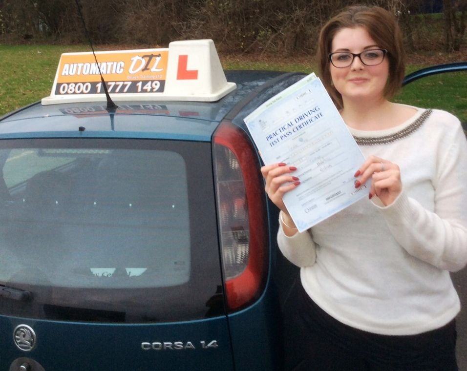 intensive driving courses telford