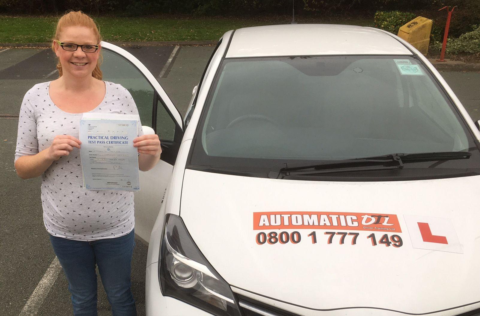 Automatic driving lessons telford shropshire