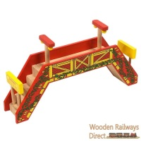 Bigjigs Railway Double Track Footbridge