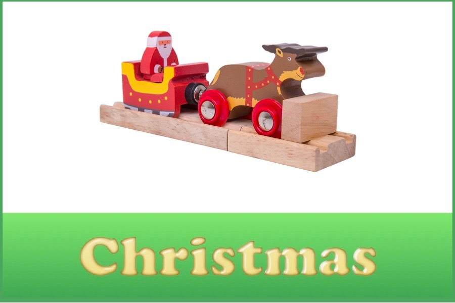 Wooden Railway Christmas Range