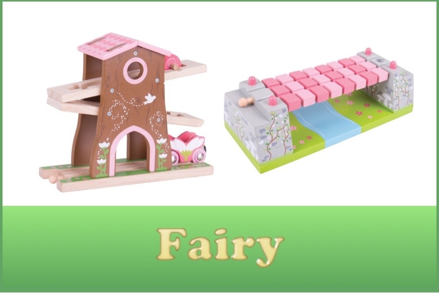 Wooden Railway Fairy Range
