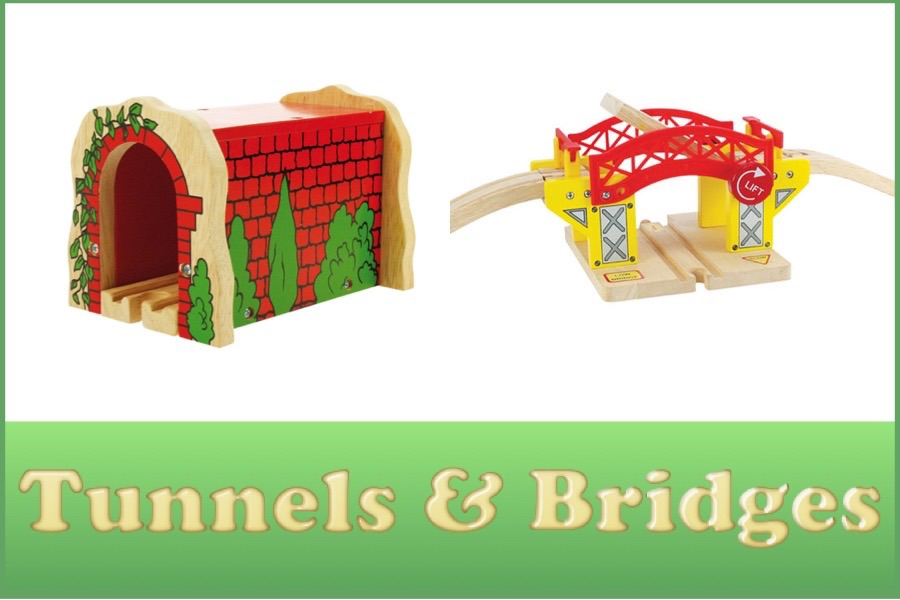 Wooden Railway Tunnels and Bridges