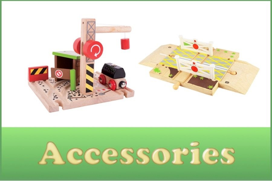 Wooden Railway Accessories
