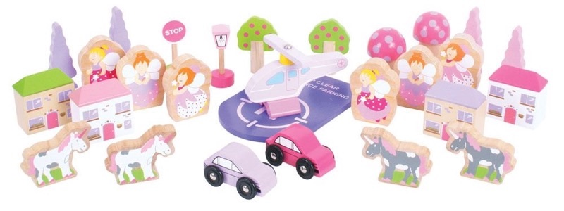 Wooden Railways Fairy Accessory Set
