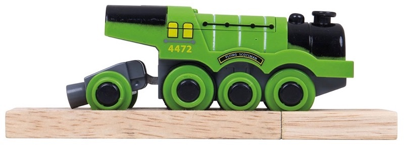 Wooden Railways Battery Flying Scotsman
