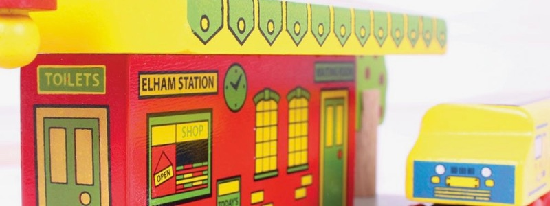Wooden Railways Direct Village Station