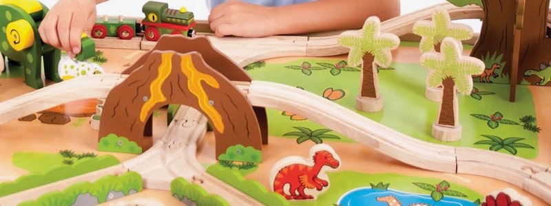 Wooden Railways Dinosaur Train Table