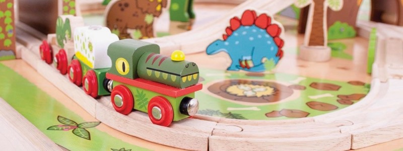 Wooden Railways Direct Dinosaurs