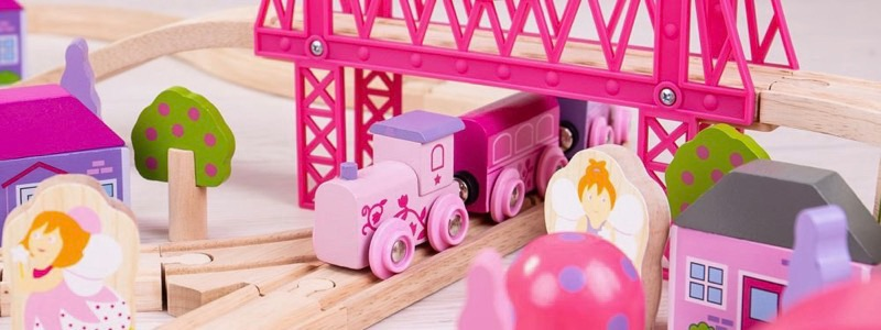 Wooden Railways Fairy Town Train Set