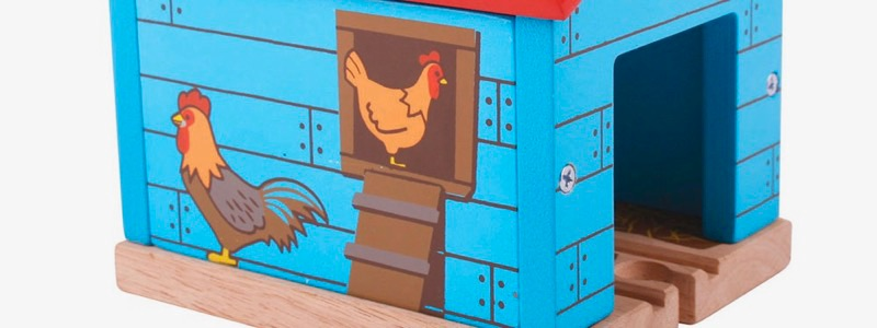 Wooden Railways Direct Chicken Shed Farm