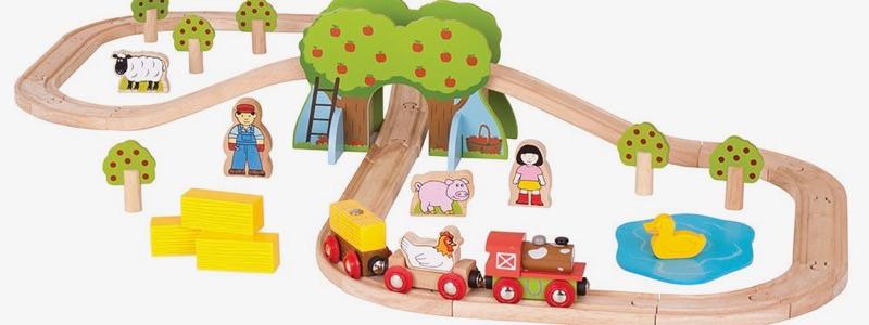 Wooden Railways Direct Farm Train Set