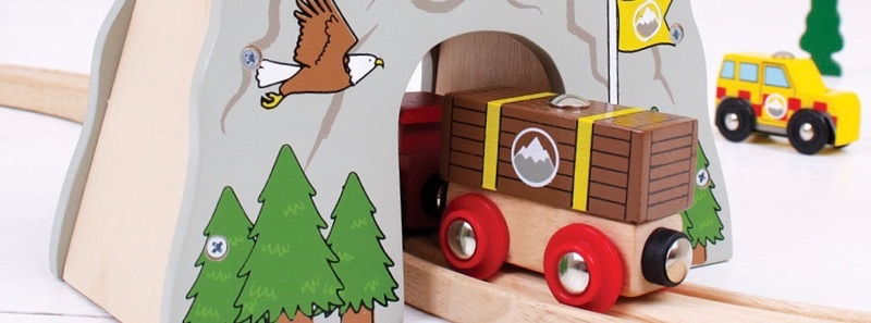 Wooden Railways Fire and Mountain Rescue