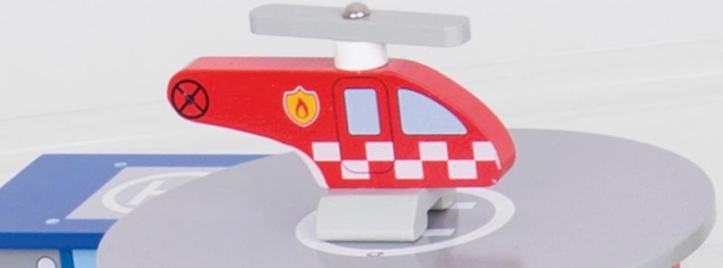 Wooden Railways Fire Rescue Helicopter