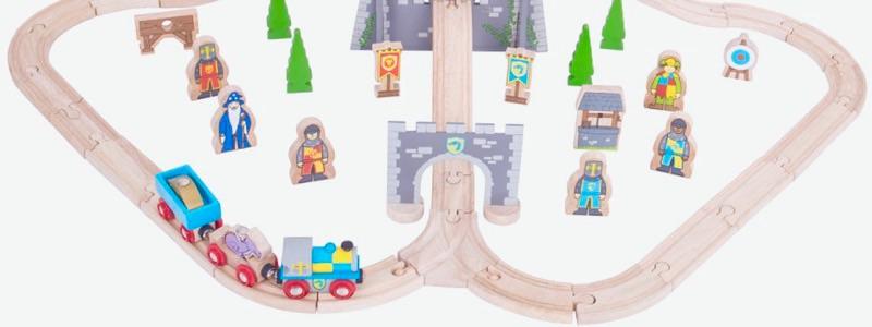 Wooden Railways Direct Medieval Train Set