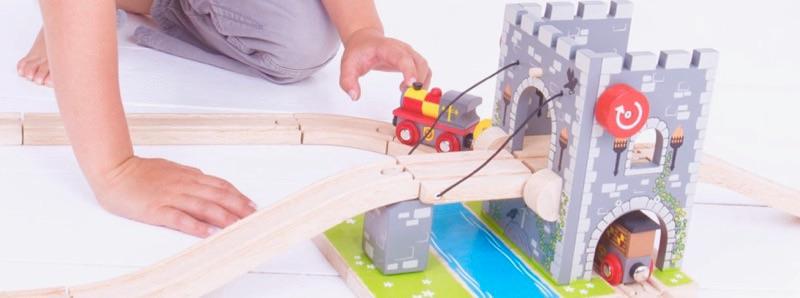 Wooden Railways Medieval Drawbridge