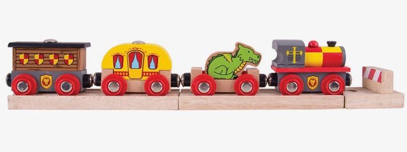 Wooden Railways Medieval Train