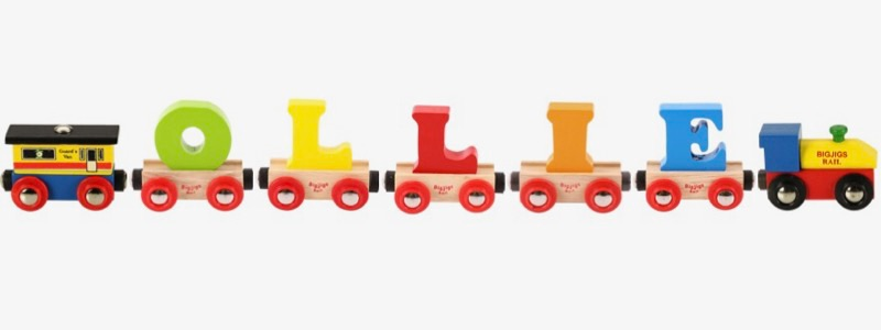 Wooden Railways Direct Name Train Ollie