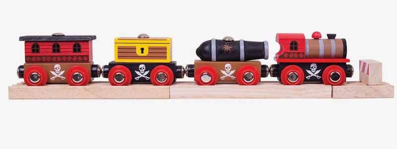 Wooden Railways Pirate Train