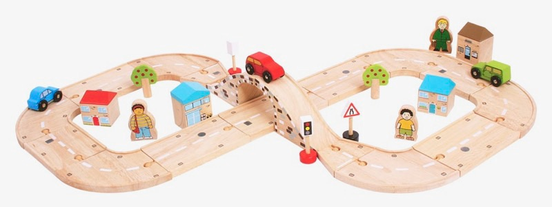 Wooden Railways Roadway Set