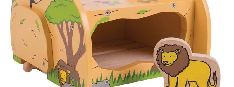 Wooden Railway Safari Tunnel