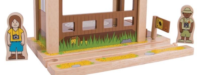 Wooden Railways Direct Safari Outpost