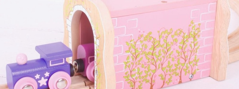 Wooden Railways Pink Tunnel