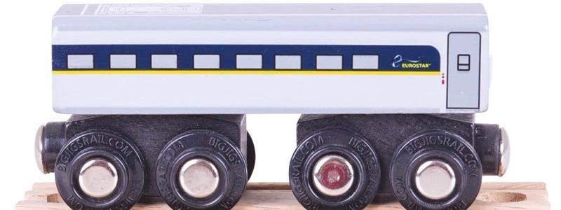 Wooden Railways Carriage