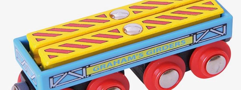 Wooden Railways Girders Wagon