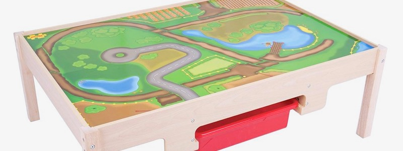 Wooden Railways Train Table