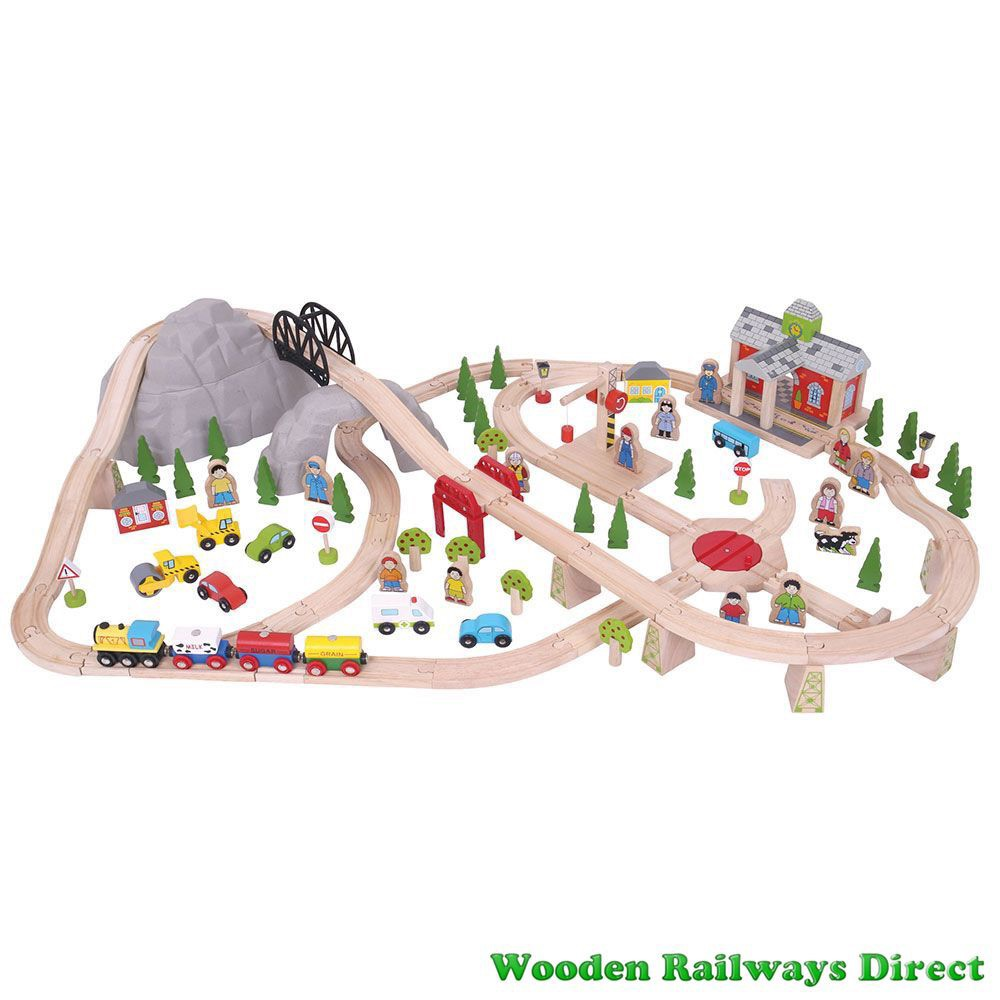 Bigjigs Railway Mountain Railway Train Set