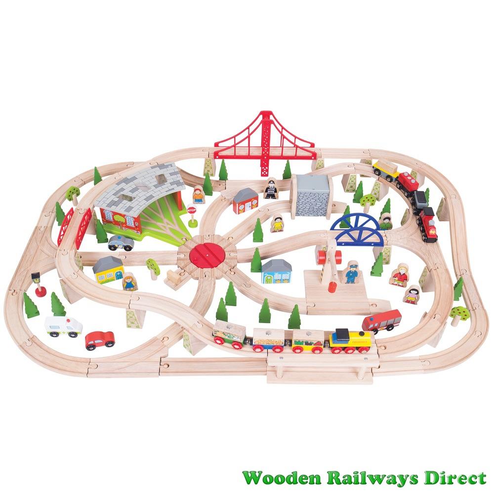 Bigjigs Railway Freight Train Set