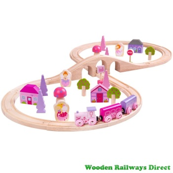 Bigjigs Railway Fairy Figure of Eight Train Set