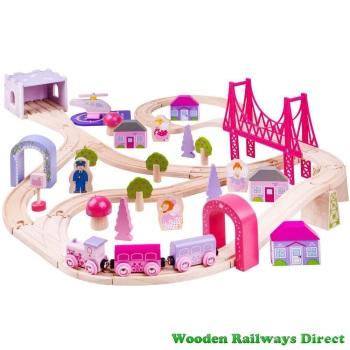 Bigjigs Railway Fairy Town Train Set