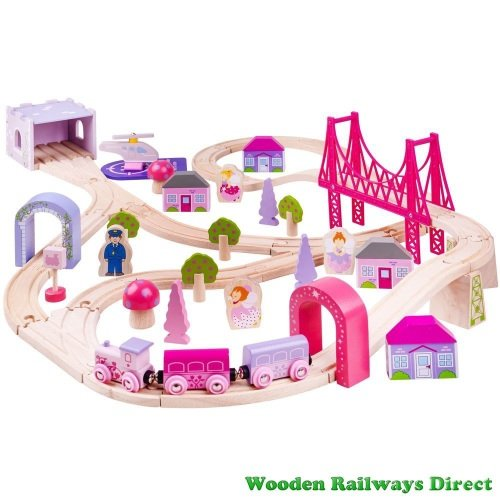 Bigjigs Railway Fairy Town Train Set