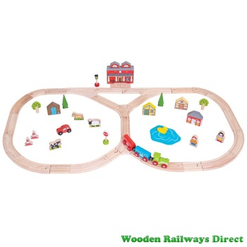 Bigjigs Railway Junction Train Set