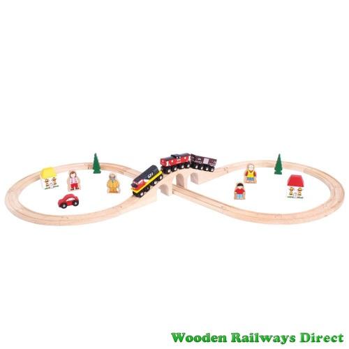 Bigjigs Railway Canadian National Train Set