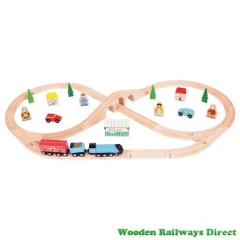 Bigjigs Railway Mallard Train Set