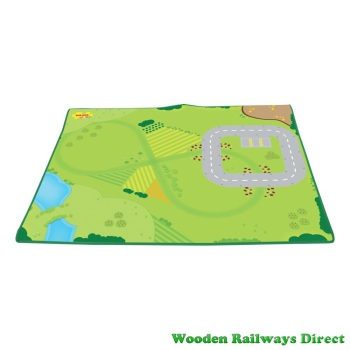 Bigjigs Wooden Railway Play Mat
