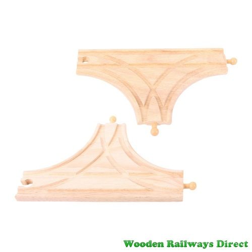 Bigjigs Wooden Railway T-Junction Track